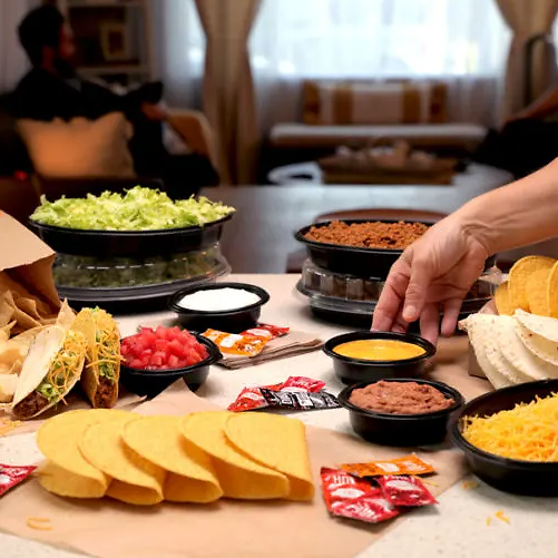 New At-Home Taco Bar (Feeds 6 People)