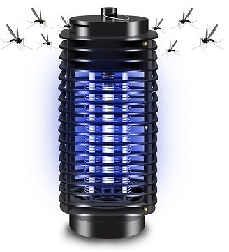 110V-220V Electronic Mosquito Killer Lamp Sales Online Black - Tomtop