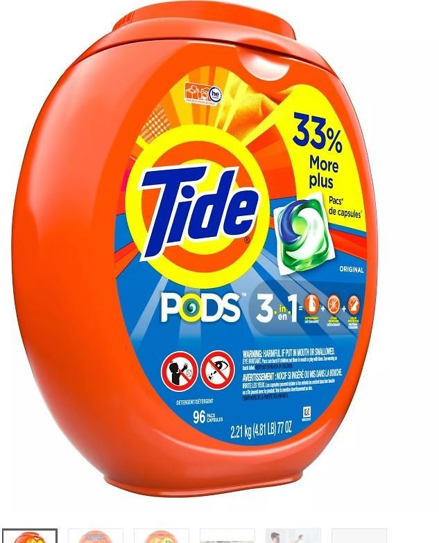 131-Count Tide Pods Laundry Detergent Pacs + $10 Target EGift Card