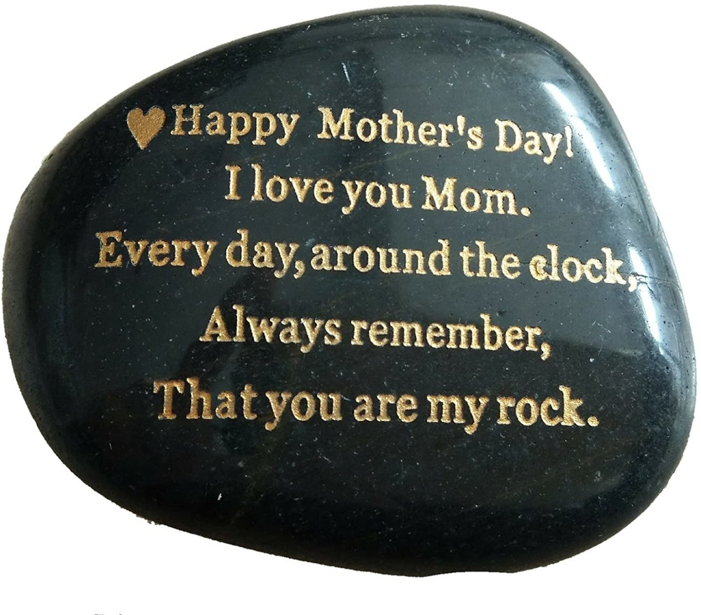 Engraved Rock Gift, Rare Unique Mother Day Gifts