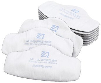 10Pcs Filter for 3200 N95 PM2.5