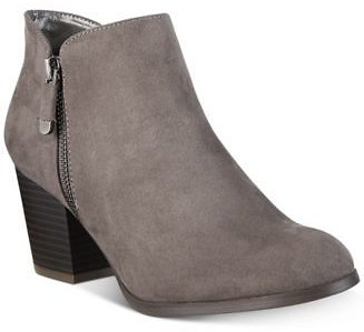 Style & Co Masrinaa Ankle Booties, Created for Macy's & Reviews - Boots & Booties - Shoes