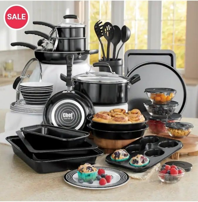 Chef Tested 44-Piece All-in-One Kitchen Set By Wards | Seventh Avenue