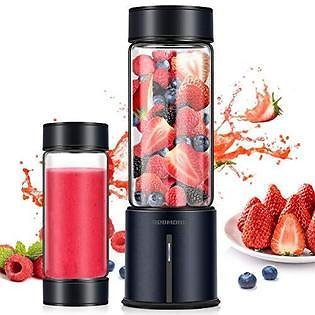 Redmond REDMOND Portable Blender, Personal USB Rechargeable Blender, Mini Juicer to Make Shake and Smoothie, Single Serve Stainless