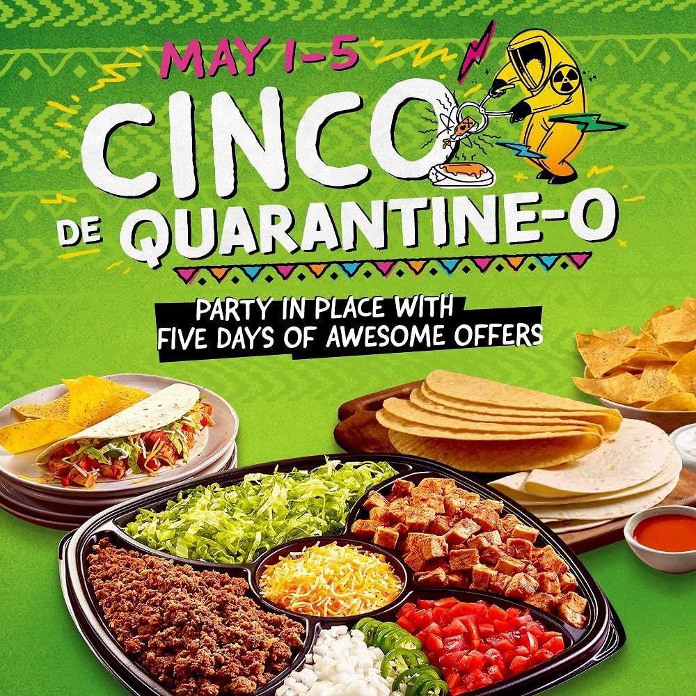 $50 Family-Style Cinco Party Pack (feeds 4-6)
