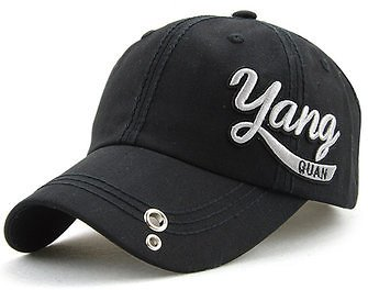 Unisex Cotton Embroidery Punching Hole Washed Baseball Cap Adjustable Snapback Hat For Men WomenMen's AccessoriesfromClothing and Apparelon Banggood.com