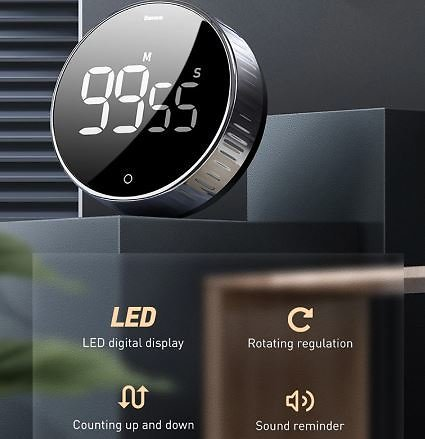 41% OFF Baseus LED Digital Kitchen Timer Coupon Code