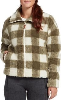 Alpine Design Women's Printed Talia Ridge Sherpa Jacket