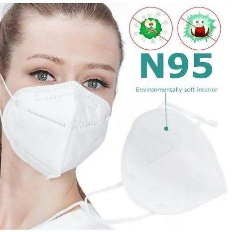 N95 FFP2 Face Mask 5-Layer Respirator for Dust Pollution Protection Anti Pollen Allergy