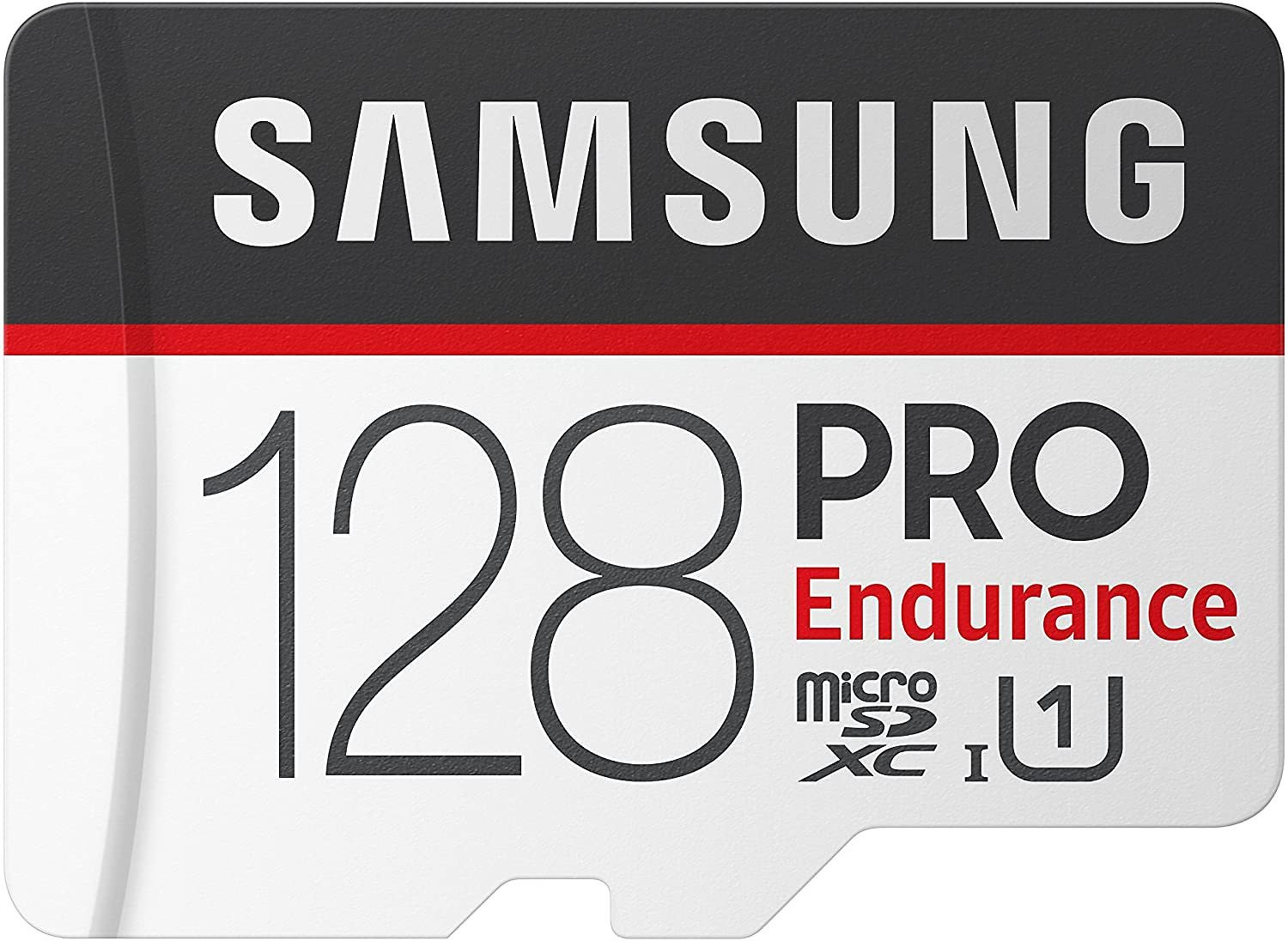 Save 15% | Samsung PRO Endurance 128GB 100MB/s (U1) MicroSDXC Memory Card with Adapter