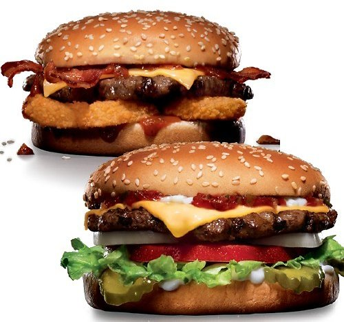 BOGO $1 Western Bacon Cheeseburger or Famous Star