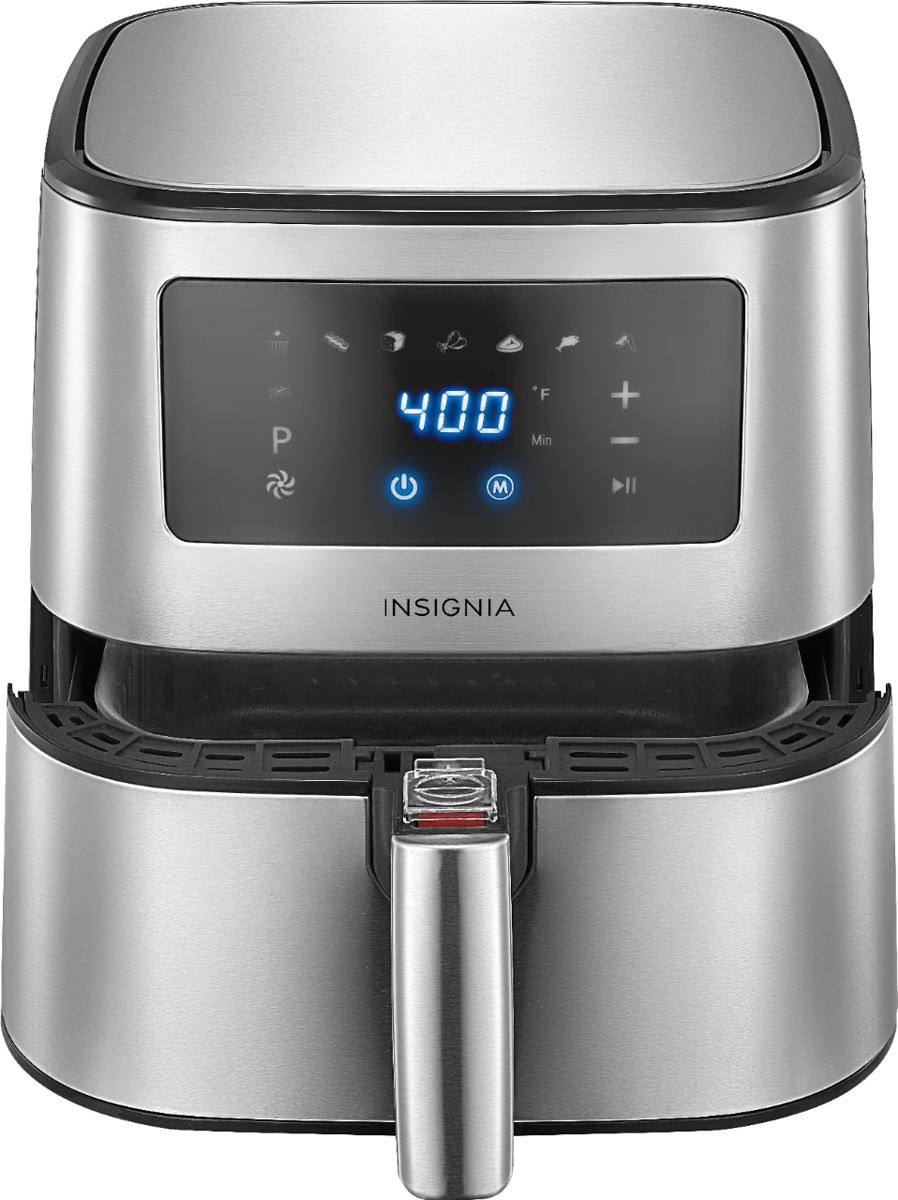 Insignia™ 5-qt. Digital Air Fryer Stainless Steel NS-AF53DSS0