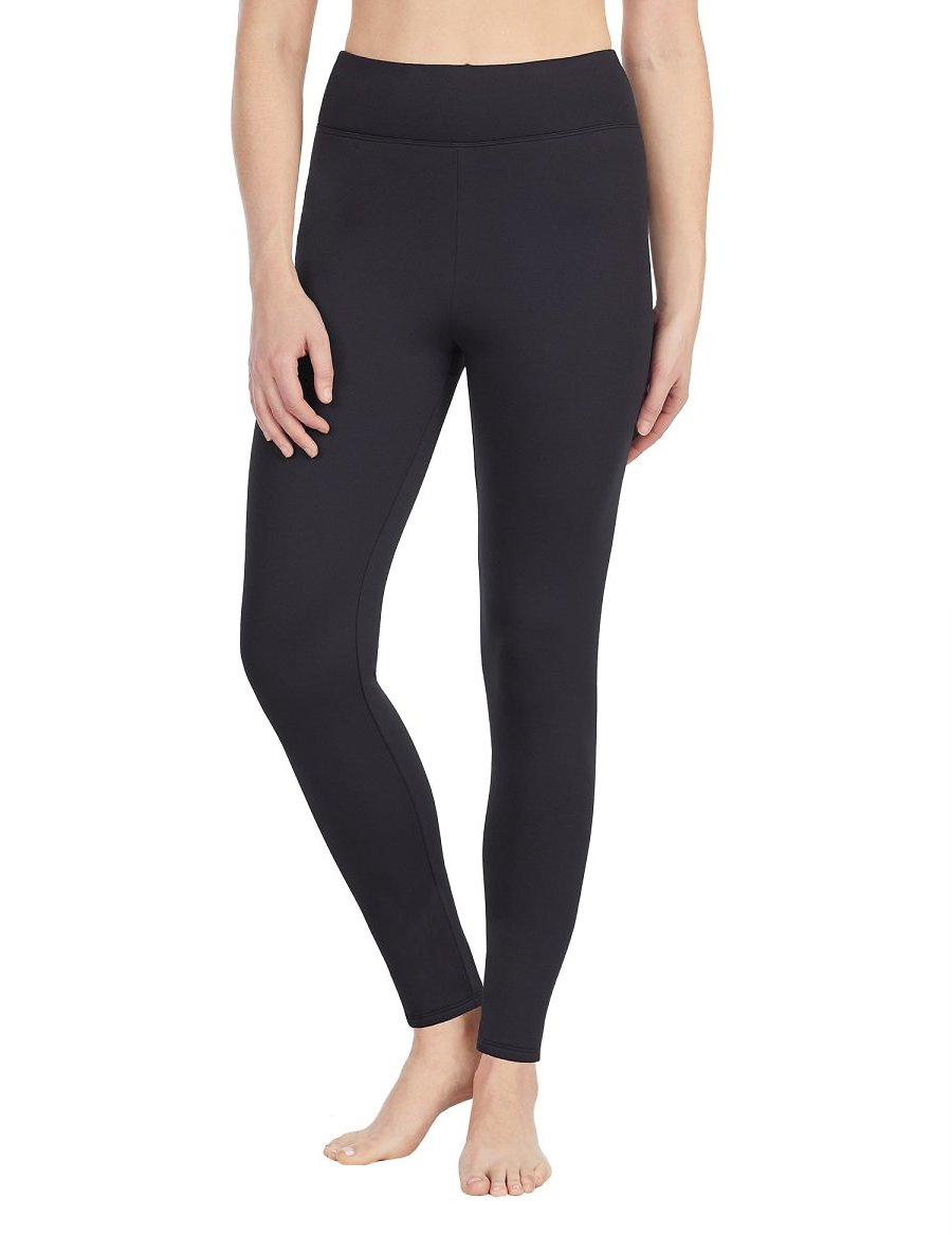 ClimateRight By Cuddl Duds Women's and Women's Plus Thermal Guard Long Underwear Legging