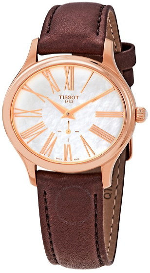 Tissot Bella Ora White Mother of Pearl Dial Ladies Watch T1033103611300
