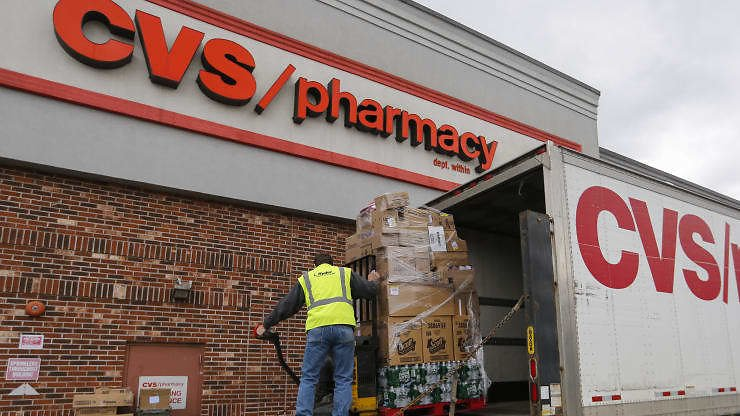 CVS Health First-quarter Revenue Rose 8% As Customers Rushed Into Stores to Buy Essentials; Shares Up