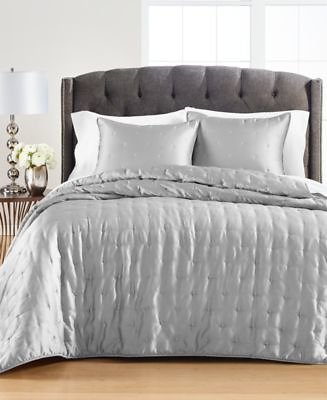 Martha Stewart Collection CLOSEOUT! Satin Twin Quilt, Created for Macy's & Reviews - Quilts & Bedspreads - Bed & Bath