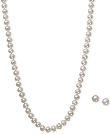 Cultured Freshwater Pearl Jewelry Set from $20