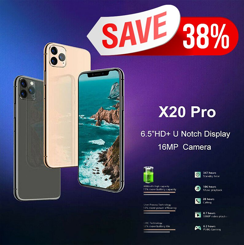 CUBOT X20 Pro Black Cell Phones Sale, Price & Reviews | Gearbest