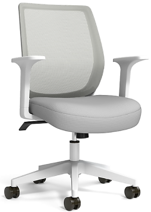 Essentials Mesh Back Fabric Task Chair (3 Colors)