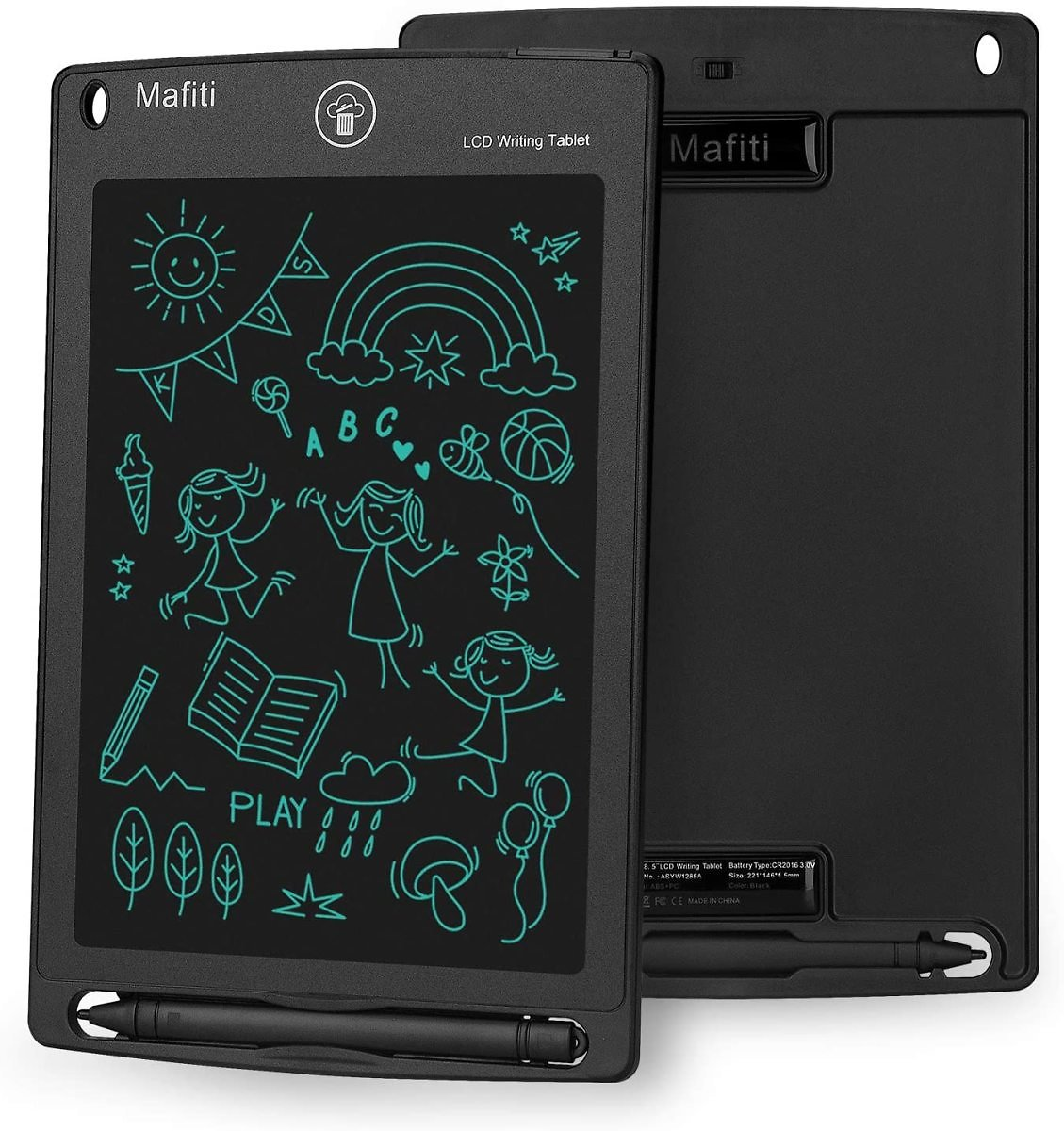 Mafiti LCD Writing Tablet 8.5 Inch Electronic Writing Drawing Pad Portable Doodle Board Gifts for Kids Office Memo Home