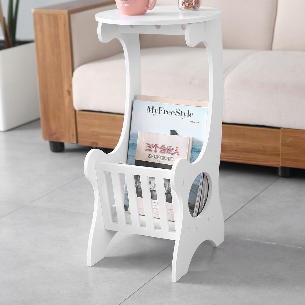Zimtown Sofa Side End Table, Snack Table