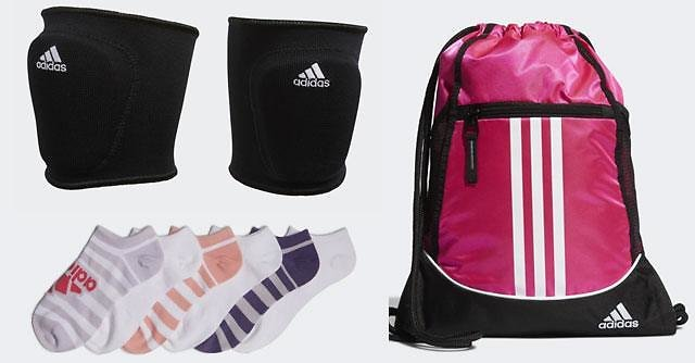 Up to 65% Off Adidas Accessories + FREE Shipping (Socks, Balls, Backpacks)
