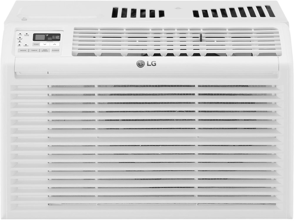 LG 260 Sq. Ft. Window Air Conditioner White LW6017R