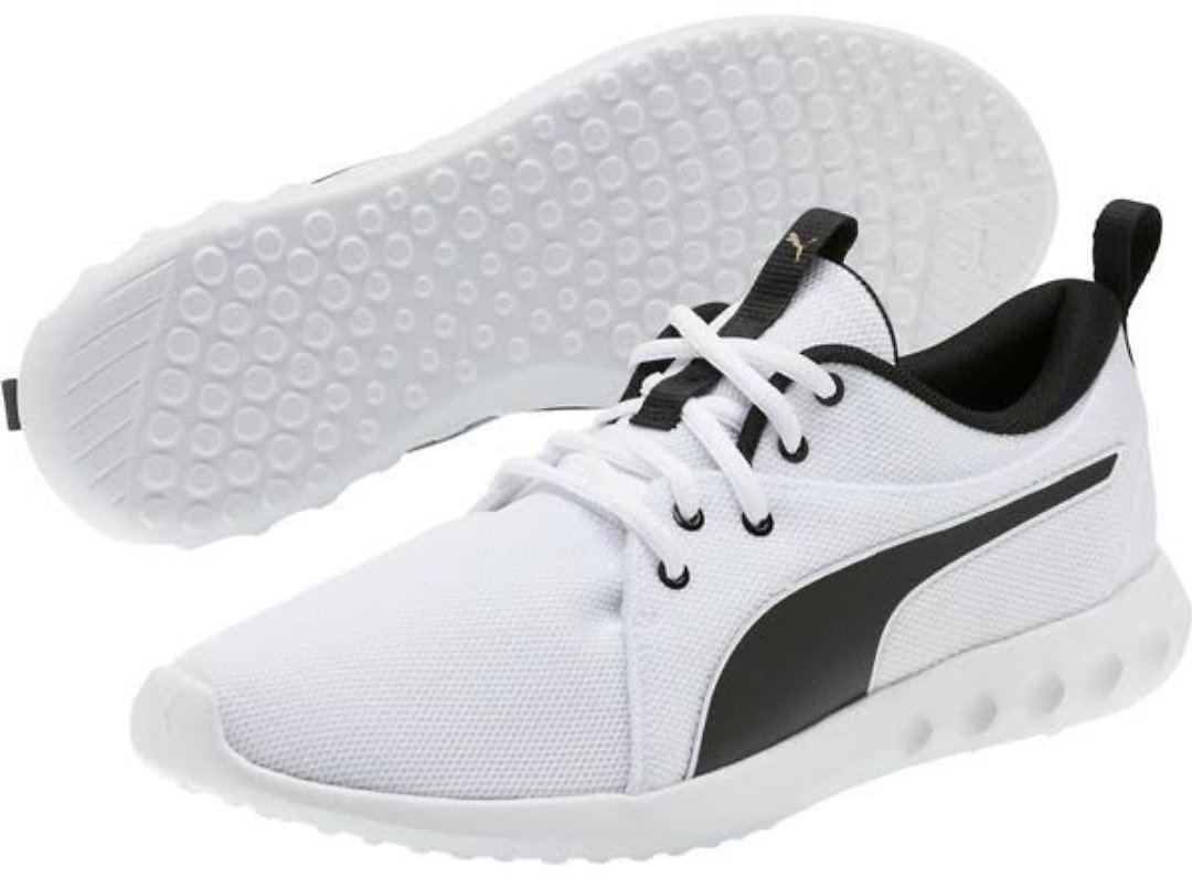 Puma Carson 2 Cosmo Men's Running Shoes, White, 11