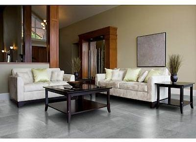 Style Selections Skyros Gray 12-in X 12-in Glazed Porcelain Floor and Wall Tile
