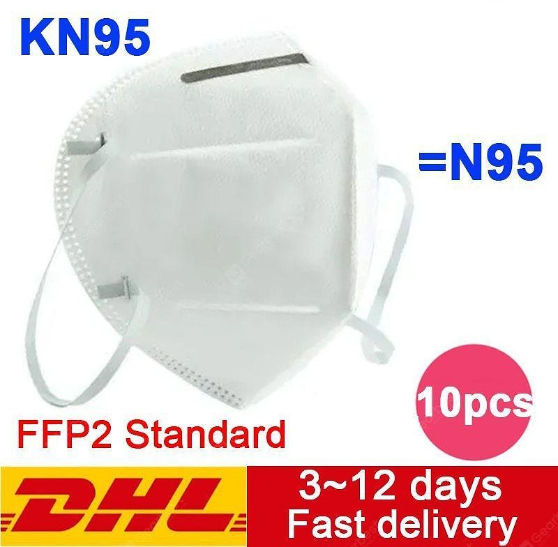 10-50 PCS DHL Delivery KN95 N95 Mask Disposable Breathable Protective Non-medical Mask Sale, Price & Reviews | Gearbest