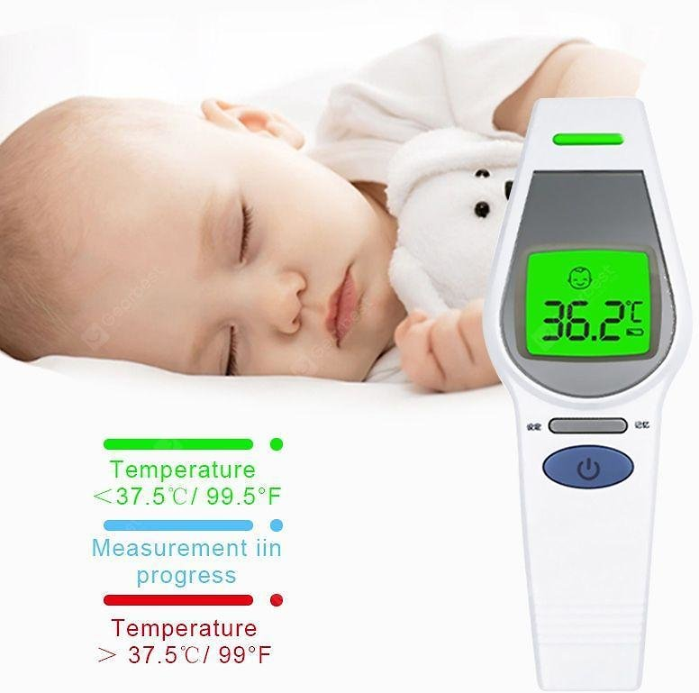 Forehead Body Thermometer Infrared Thermometer Non-contact Thermometer Gun Anti Virus Thermometer Sale, Price & Reviews | Gearbest