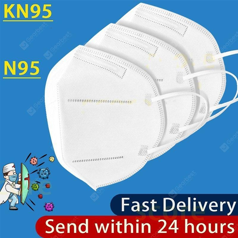 KN95 Disposable Masks N95 Face Mask Anti-Dust Safety Protective Non Medical Respirator Sale, Price & Reviews | Gearbest
