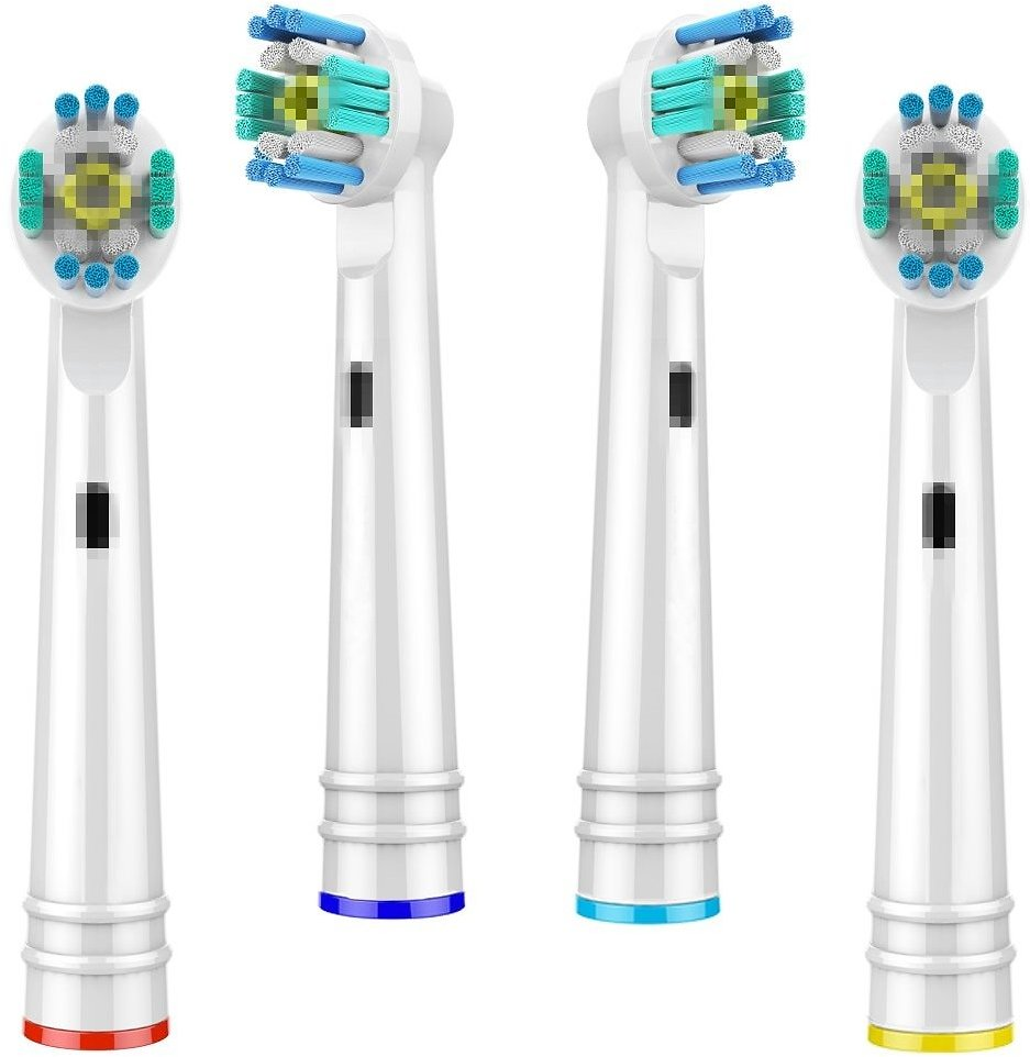 4pcs Replacement Brush Heads For Oral-B Toothbrush Heads Advance Power/Pro Health Electric Toothbrush Heads