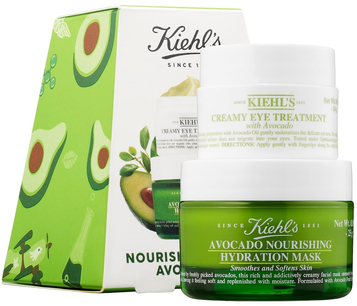 Nourished By Nature Avocado Duo