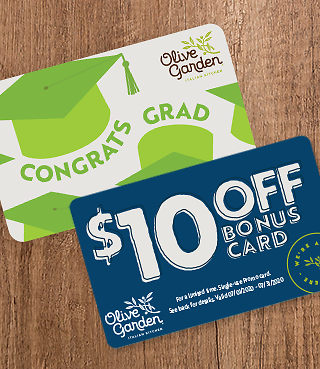 $10 Bonus Card with Every $50 in Gift Cards