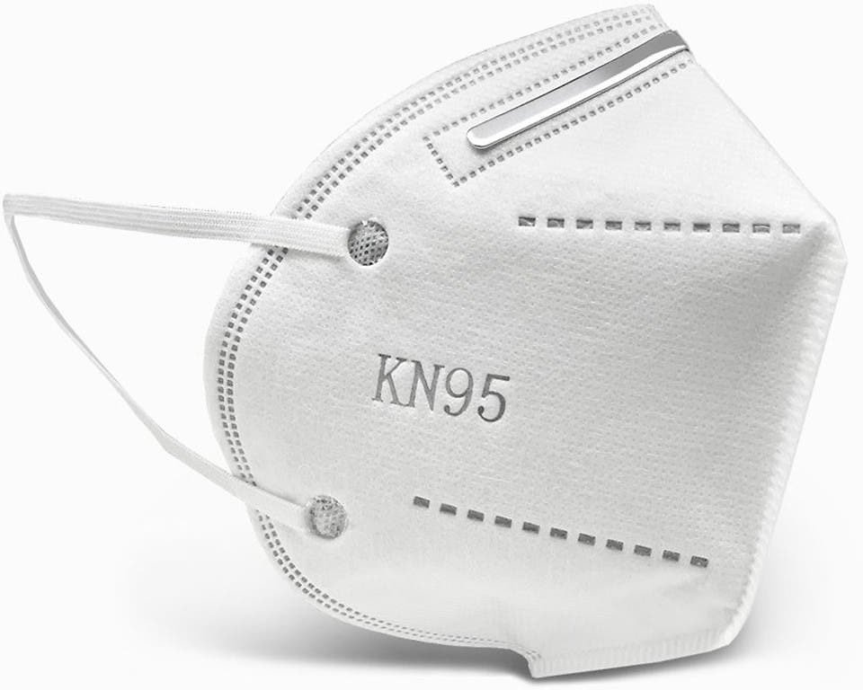 10Ct - KN95 Face Mask (Breathing Respiratory Protection FDA and CE Certified Non Surgical)