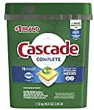 Cascade Complete ActionPacs, Dishwasher Detergent, Fresh Scent, 78 Count: Health & Personal Care