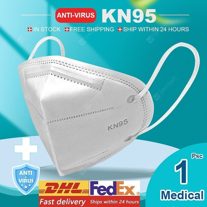 KN95 N95 Respirator Face Mask Surgical Adjustable Dust Full Face Mask Medical Health Care Facepiece Sale, Price & Reviews | Gearbest