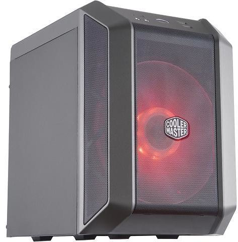 Cooler Master MasterCase H100 Mini-ITX Case w/ 200mm RGB Fan, Mesh Front Panel, Built-In Handle & USB 3.2 Gen 1 (USB 3.0) - Newegg.com