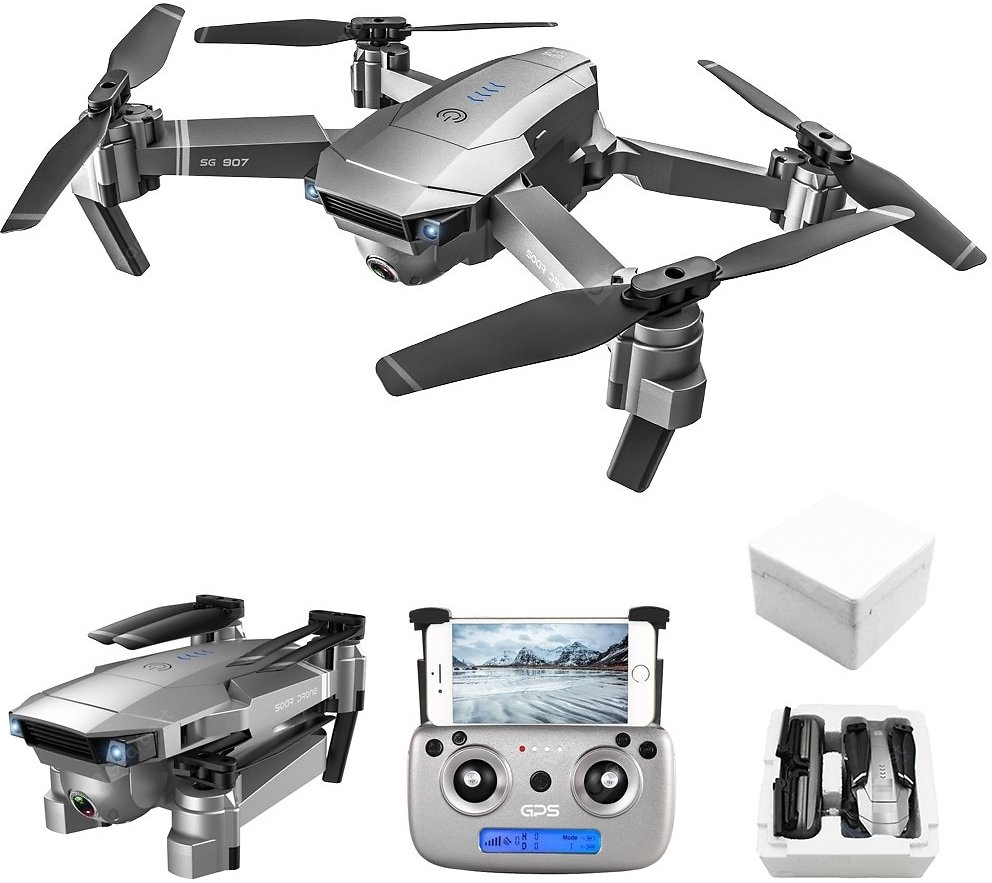 SG907 Foldable GPS 5G WIFI FPV RC Drone Quadcopter with Ultra HD Camera Optical Flow Sale, Price & Reviews   Gearbest