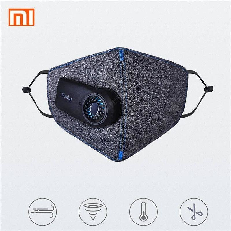 Xiaomi Mijia Purely Anti-Pollution Air Face Mask with PM2.5 550mAh Battreies Rechargeable Filter Sale, Price & Reviews | Gearbest