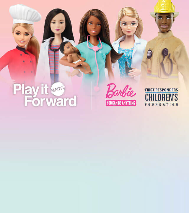 Mattel Is Donating Barbie Dolls to Children of First Responders