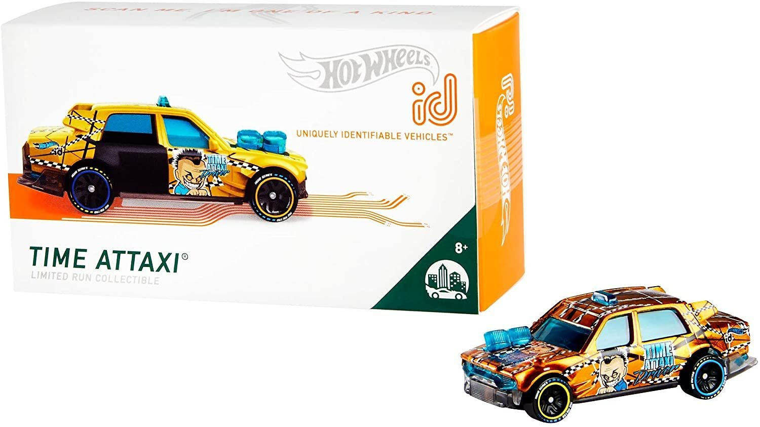 Hot Wheels Id Time Attaxi {HW Metro}