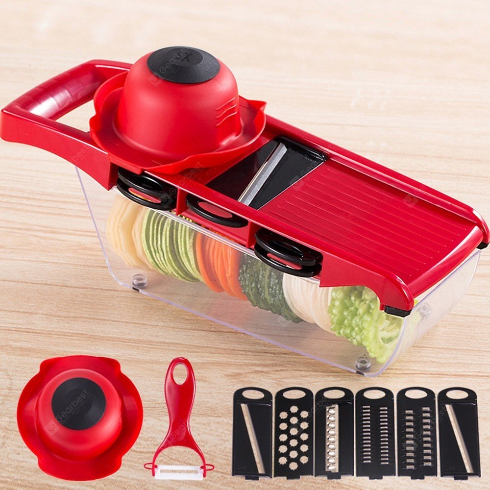 ZS - 8983 Vegetable Fruit Slicer Cutter Kitchen Magic Tool Sale, Price & Reviews | Gearbest