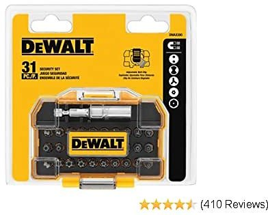 DEWALT Screwdriver Set, Security, 31-Piece (DWAX200)
