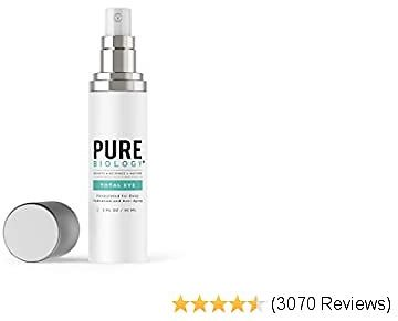 Pure Biology Premium Total Eye Cream Serum - Anti Aging Vitamin C, E &