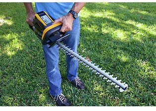 Mowox Mowox MNA4071 40V 24 In. Cordless Hedge Trimmer Kit with (1) 4 Ah Lithium-Ion Battery and Charger