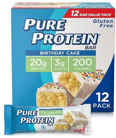 12-Pack Pure Protein Bars