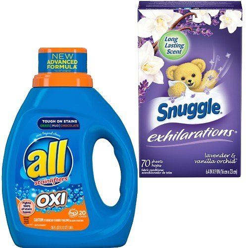 B1G1 FREE All Detergent, Snuggle Dryer Sheets & Suavitel  (In-Store)