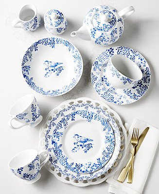 Martha Stewart Collection English Garden Collection, Created for Macy's & Reviews - Dinnerware - Dining